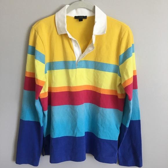 Multi Color Rugby Shirt Rug Agar
